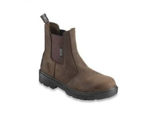 Contractor Brown Dealer Boot