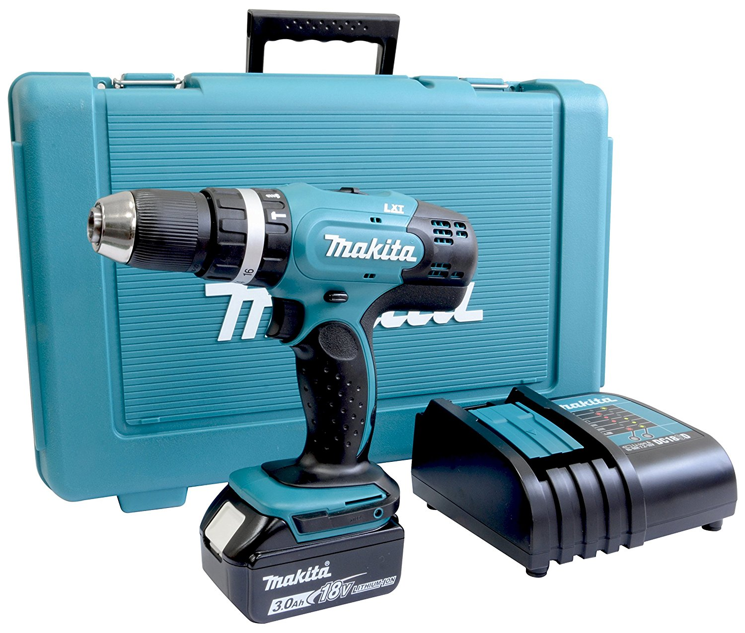 Makita DHP459RMJ 18v Cordless 13mm Brushless 2-Speed Combi Drill inc 2x 4.0Ah Batts