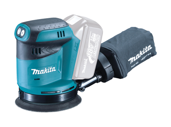 Makita DBO180Z 18v Random Orbit Disc Sander 125mm Disc Bare Unit