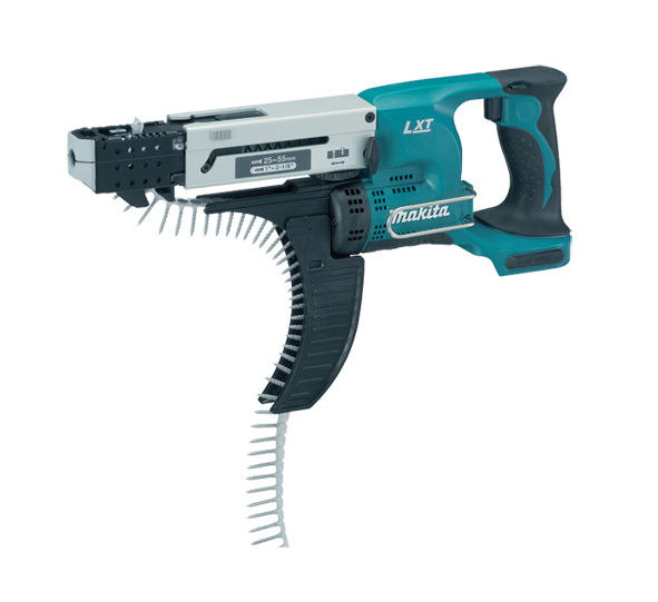 Makita DFR550Z 18v LXT Auto Feed Screwdriver Bare Unit 55mm