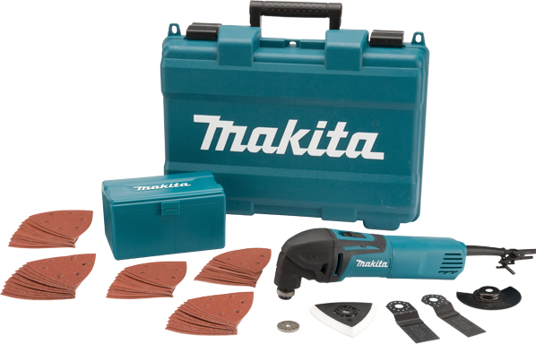 Makita TM3000CX4 Multi Tool 240v + 33 Accessories