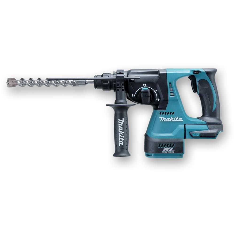 Makita DHR242Z 18v 24mm SDS+ Plus Brushless Cordless Rotary Hammer Drill Body Only