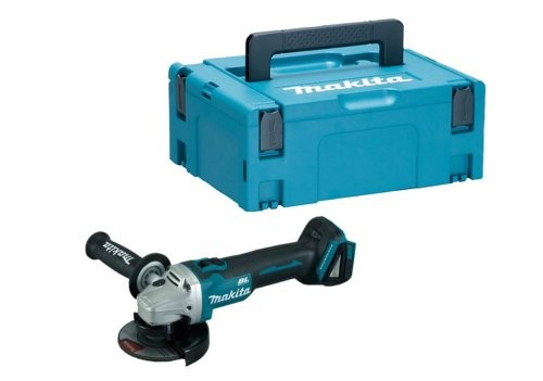 Makita DGA454ZJ1 18v Brushless Grinder In MAKPAC Box Bare Unit