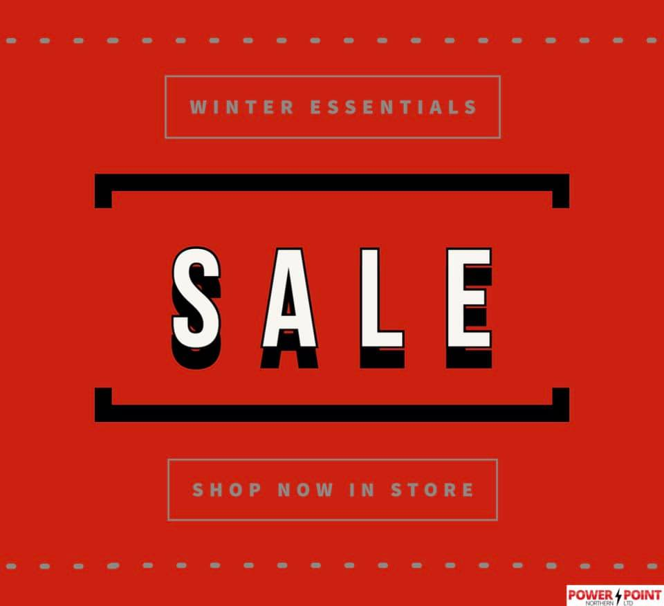 Winter Essentials Sale